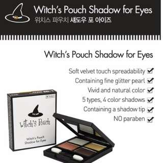 Witch's Pouch Shadow For Eyes Eyeshadow Palette