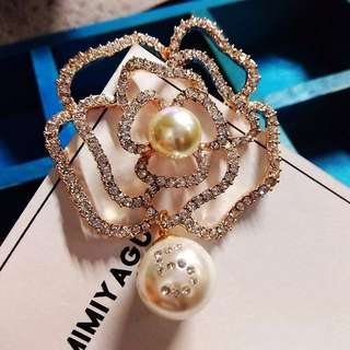 Chanel No. 5 Camellia Brooch