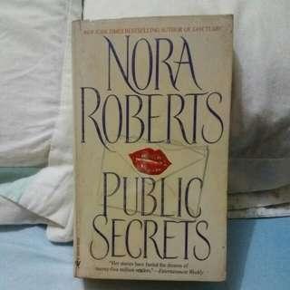 """Nora Roberts """"Public Secret"""
