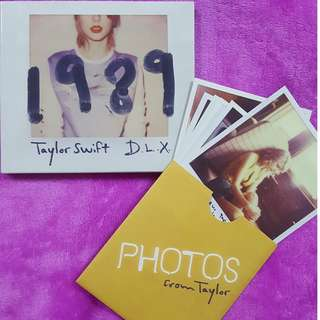 Taylor Swift 1989 Deluxe Edition