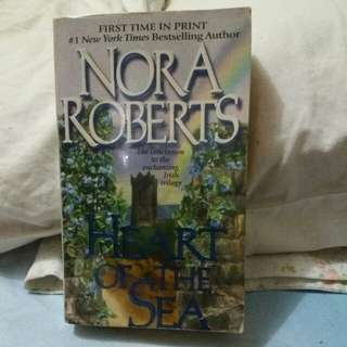 """Nora Roberts """"Heart of the Sea"""""""