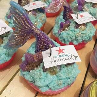Mermaid candles