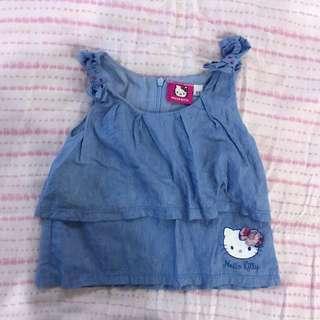 Hello Kitty Denim Top