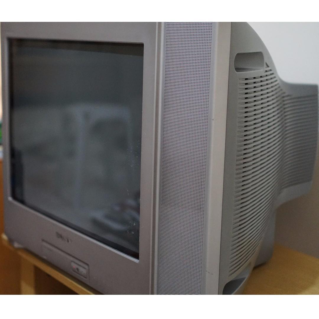 21quot sony crt tv wega trinitron rush sale electronics