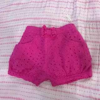 Little Miss Pink Shorts