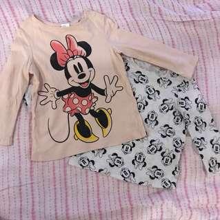 H&M Minnie Tops (Set)