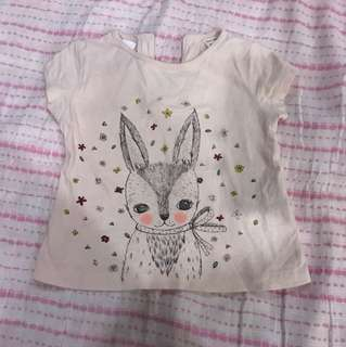 Zara Bunny Top