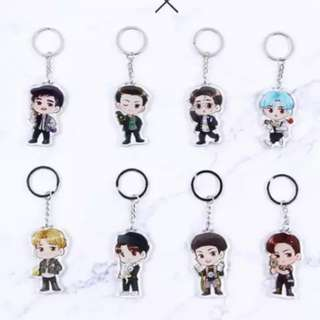 EXO Power Keychain