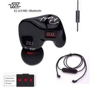 KZ ZS3 In-ear Earphone + Bluetooth Module