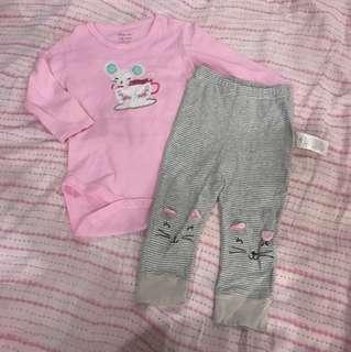 Moms Care Pajama Set