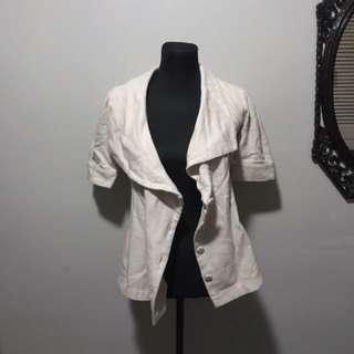 Bayo wide lapel blazer