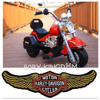 **In-Stock** New Electric Harley Davidson Motorcycle For Kids/ Baby/ Children/ Toddler ( Birthday Present, Laptop, Electrical, Home, Table, Chair, Car, Swing, Jumper, Dad, Kiddy Car, Baby Cloths, Bike, Bicycle)