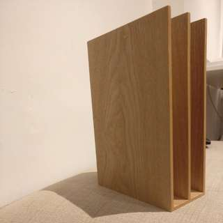 MUJI Duo-slots bookshelf
