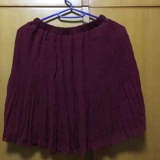 女裝氣質斯文百褶裙 skirts