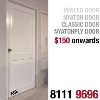 ALL KIND OF DOOR (Classic door, nyatoh door, nyatohply door, veneer door etc)