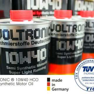 VOLTRONIC 10w40 Semi Synthetic Motor Oil