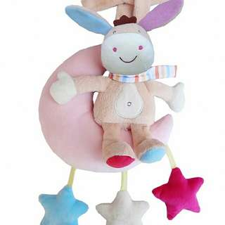 Stroller Musical Hanging toys- Donkey