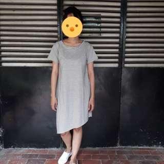 Dress kaos strip