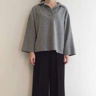羊毛polo領衫