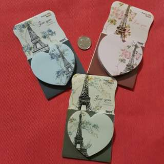 Take all: Eiffel Tower Post it Notes