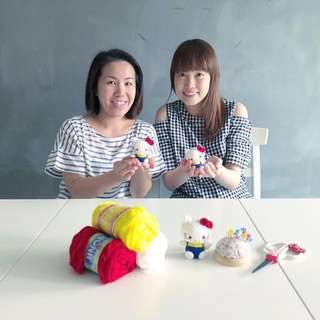 Applelulu Crafts: Amigurumi Workshops