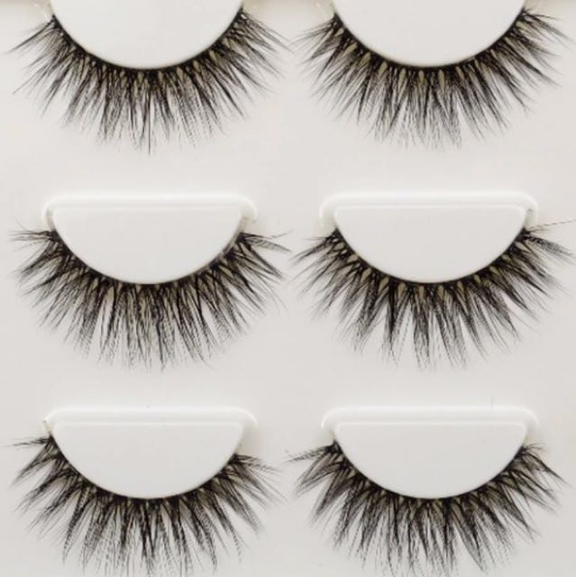 3 pair set of 3D Luxury Lashes