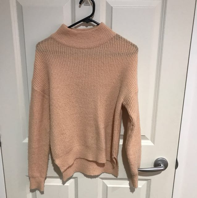 66GIRLS SALMON KNIT