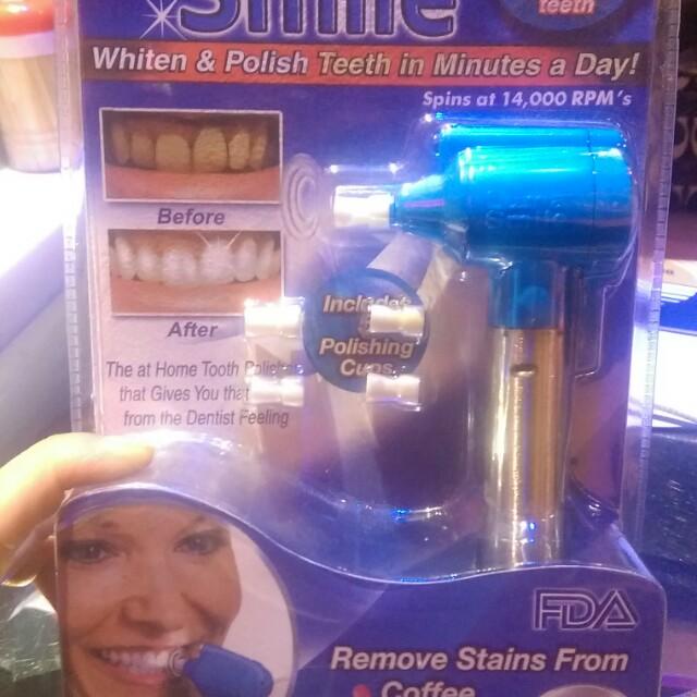 牙齒美白器