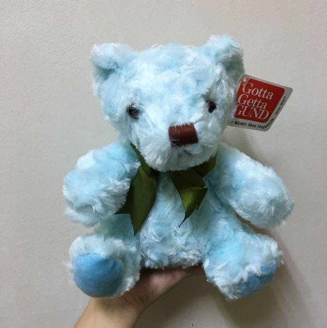 藍色熊熊娃娃/玩偶