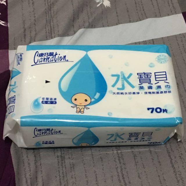 康乃馨 水寶貝潔膚濕巾(濕紙巾)