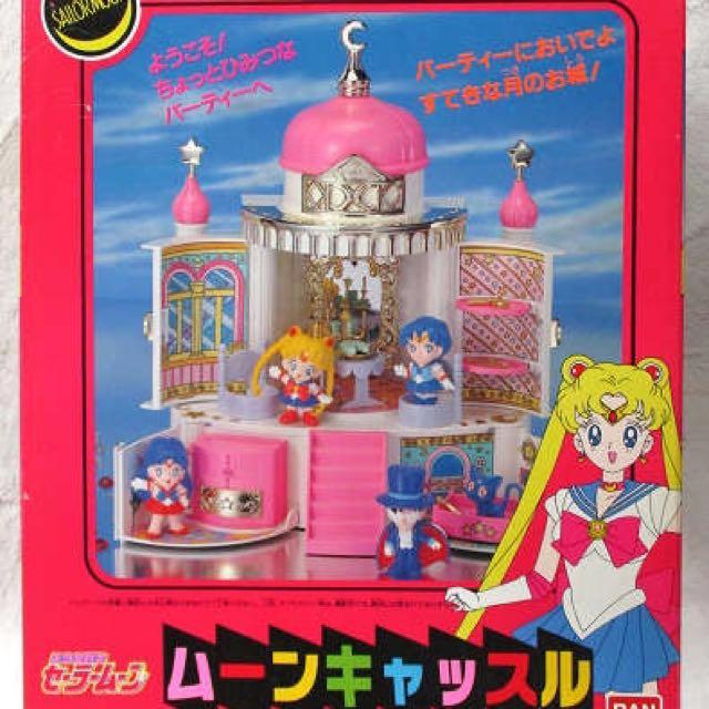 代購 萬代 美少女戰士 月光城堡
