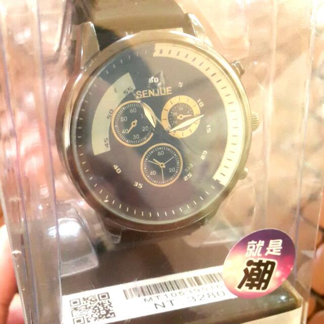 朋友送的手錶,不需要用隨便賣 腕錶  品牌:SENJUE   品名:極限運動腕錶SPORTS