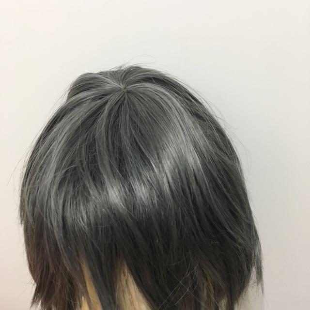 黑執事 少爺 wig 全新 灰藍色 假髮