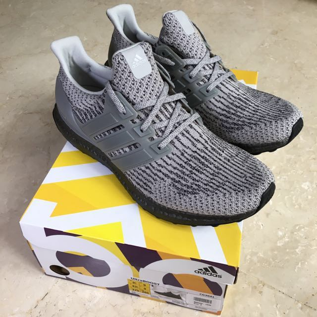 Adidas Ultra Boost masculina Triple (UK9, Gray (UK9, Moda Triple masculina f040d8b - immunitetfolie.website