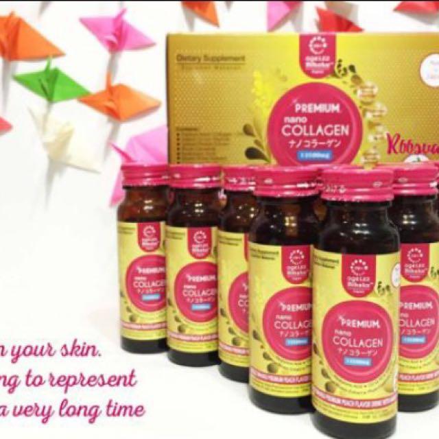 Agelez Bihaku Premium Nano Collagen 13.500mg