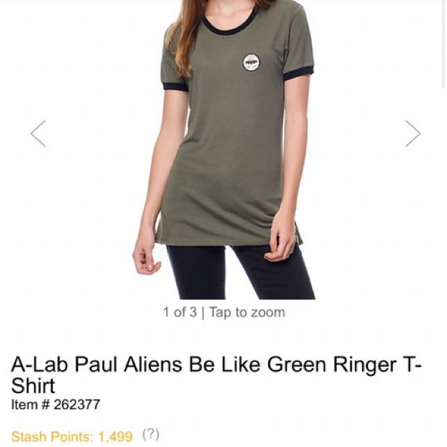 Aliens Be Like Shirt - Zumiez