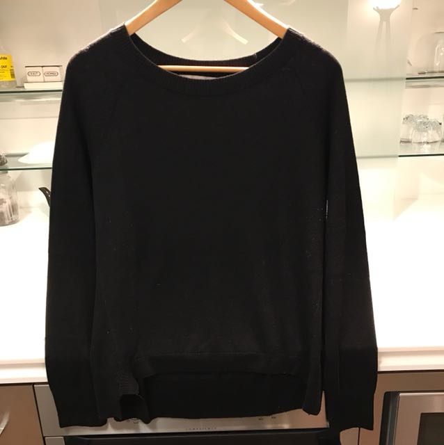 Banana Republic Black Knit Pullover