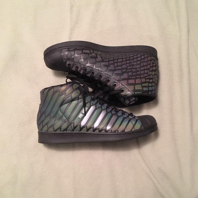 Black 3M Shoe/Adidas Pro Model Xeno Size 13