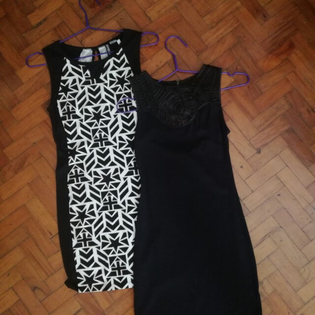 🌻BRAND NEW (with Tag) Black Topshop Fitted Dress