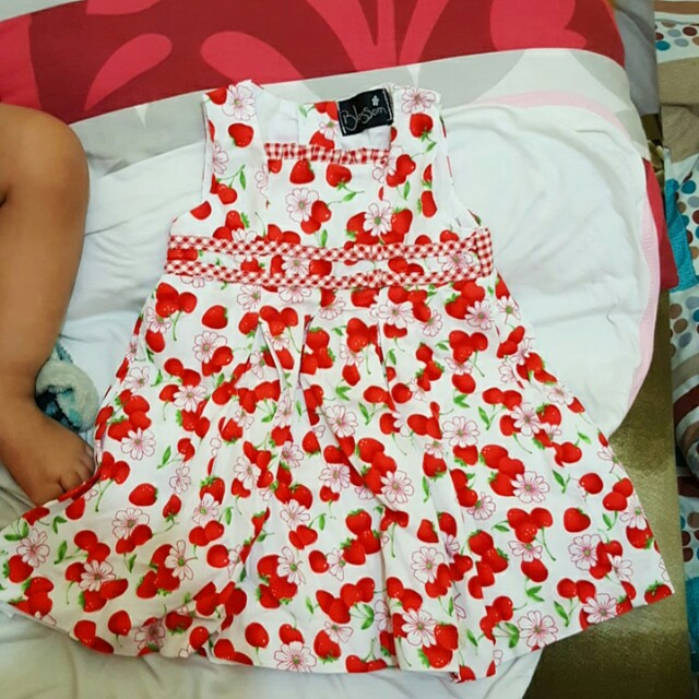 Blossom Red Cherry Dress