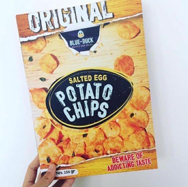 Blueduck Potato Chips