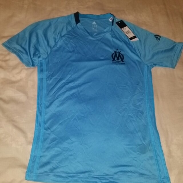 huge discount a7fd5 ed18a BNWT Olympique Marseille Training Jersey, Sports, Sports ...