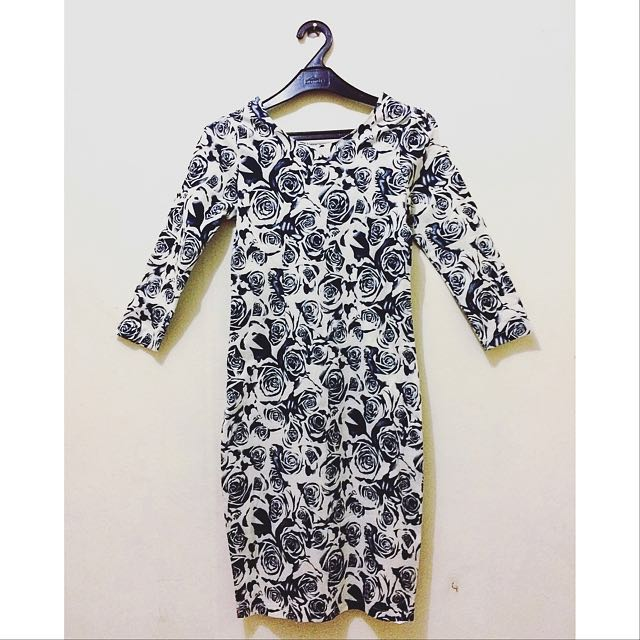 Bodycon Flower dress