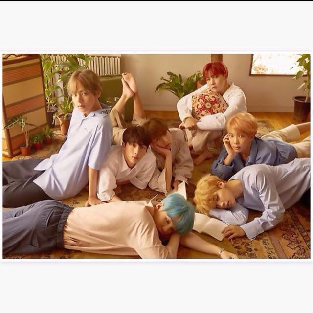 BTS Love Yourself posters