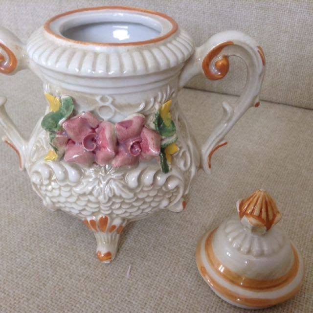 Capodamonte Tea Set - Vintage