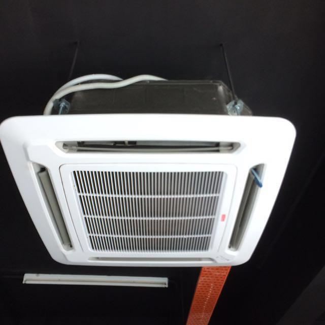 Casette Ceiling Aircond Acson 1.0hp #deepavali50