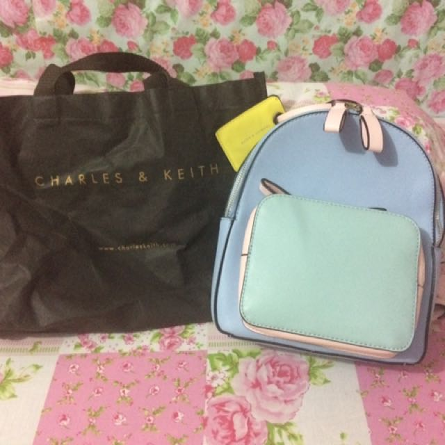 Charles&keith backpack multicolour