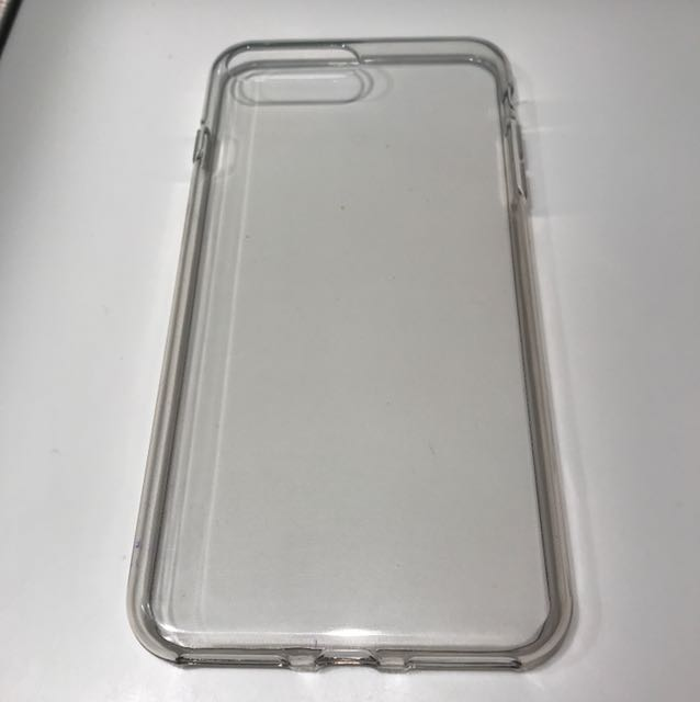 Clear Gel Skin Case for iPhone 7 Plus