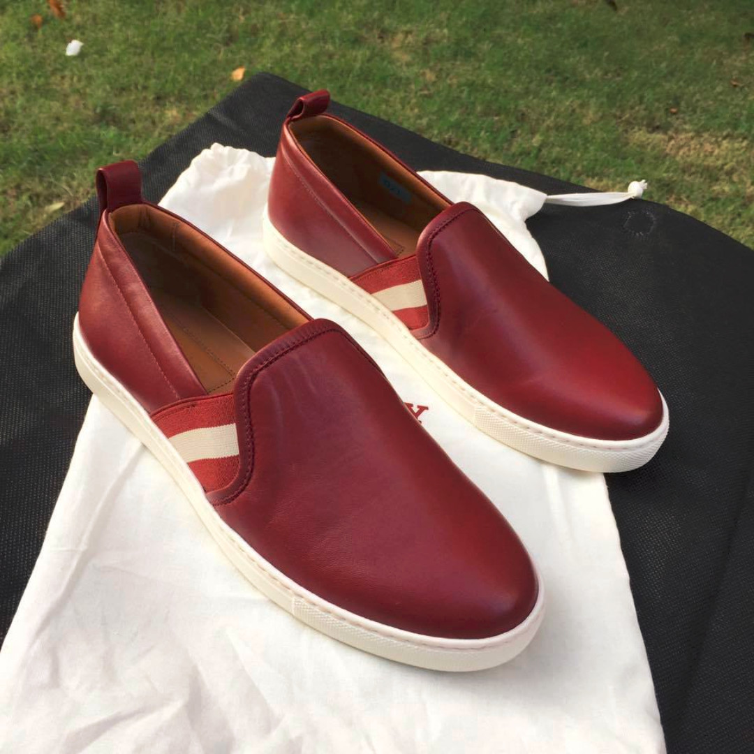 8bb3c6ab2ee0 Clearance  - Bally Henrika Women s Leather Slip-On Shoes