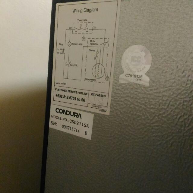 Condura refrigerator 65 cu ft single door kitchen appliances on condura refrigerator 65 cu ft single door kitchen appliances on carousell asfbconference2016 Choice Image